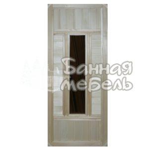 Двери со стеклянной вставкой ДС-2