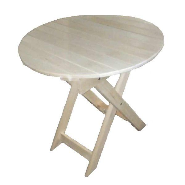 Стол круглый (раскладной) Усиленный