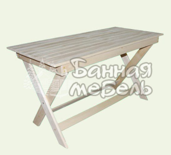 Стол в баню и сауну